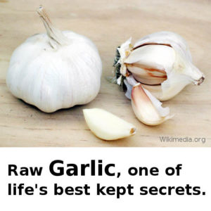 See the benefits of raw Garlic