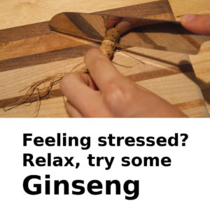 Relax,try Ginseng