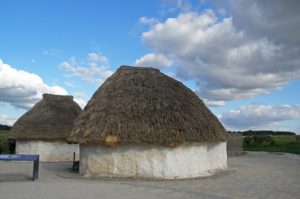 Neolithic round houses