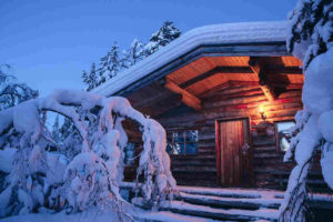 The log chalet