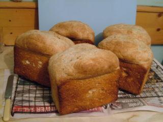 How long do you bake bread for?